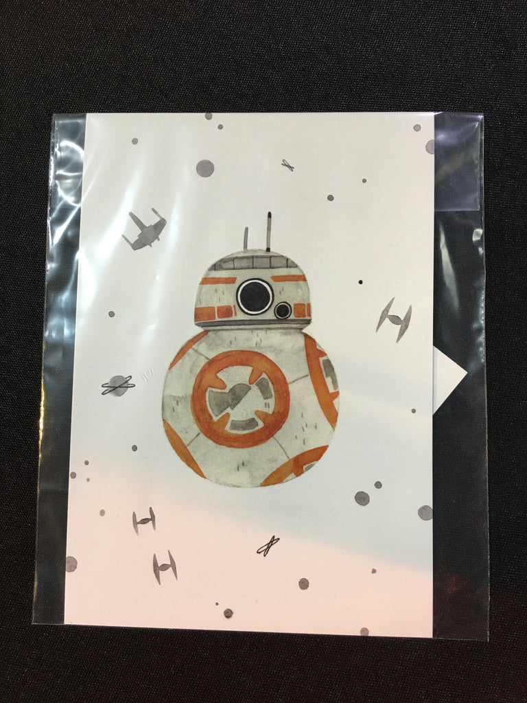 BB-8 PRINT (by Maggie Chiang) - XSN - Your Shopping Network