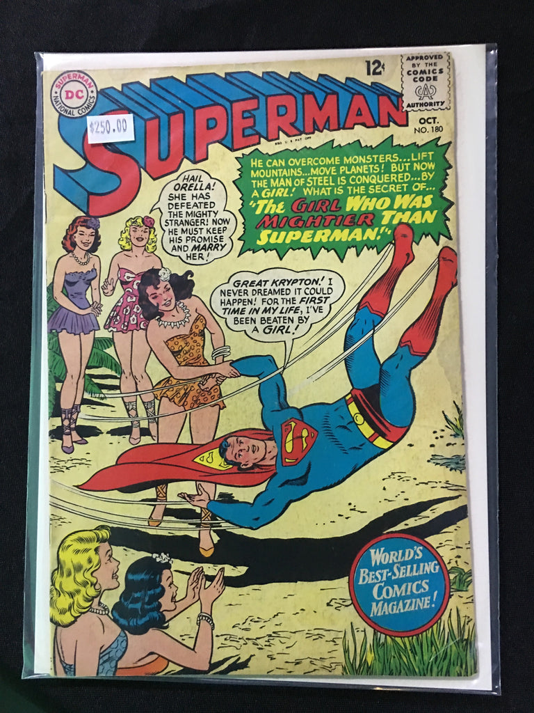 Superman #180 - XSN - Your Shopping Network