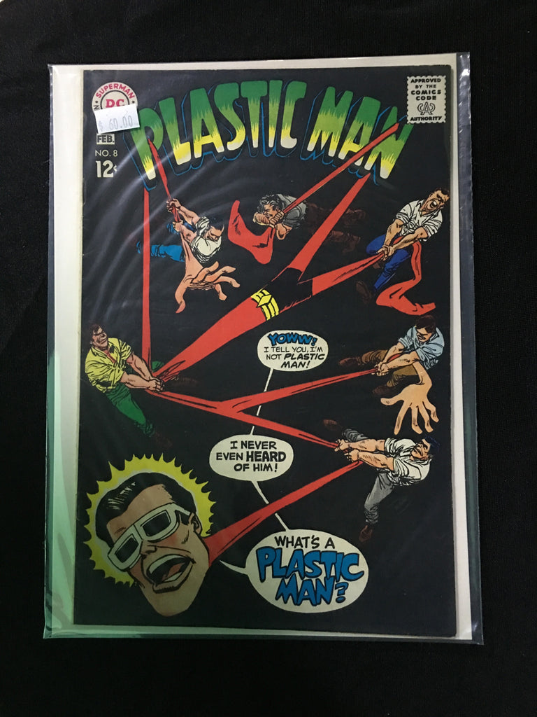 Plastic Man #8 - XSN - Your Shopping Network