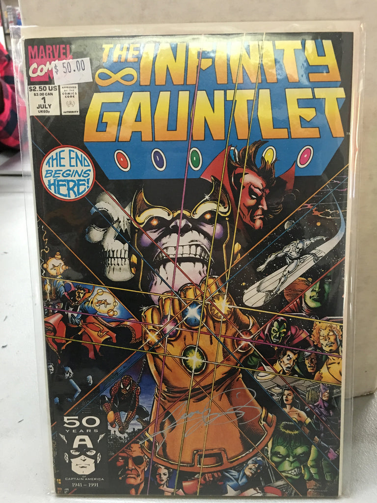 Infinity Gauntlet #1 - XSN - Your Shopping Network - 1