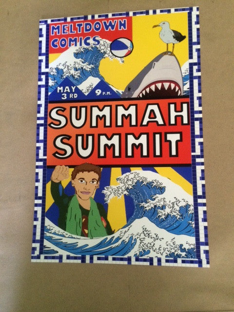 Summah Summit Poster - XSN - Your Shopping Network