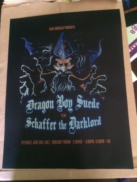 Dragon Boy Suede v. Schaffer the Darklord Poster - XSN - Your Shopping Network