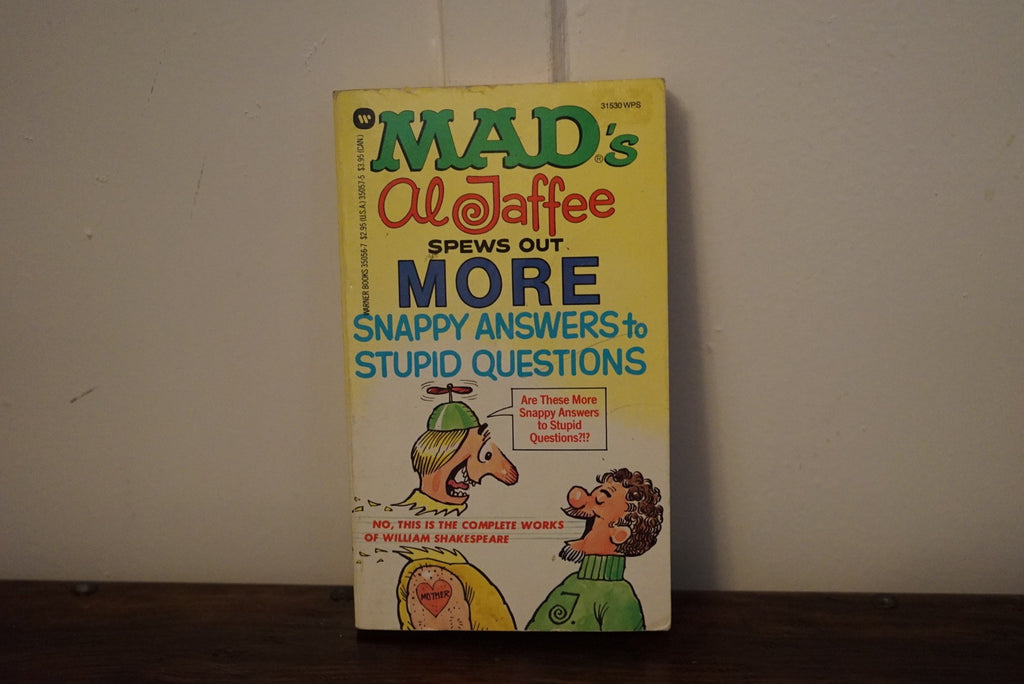 Mad Magazine Al Jaffee book - XSN - Your Shopping Network