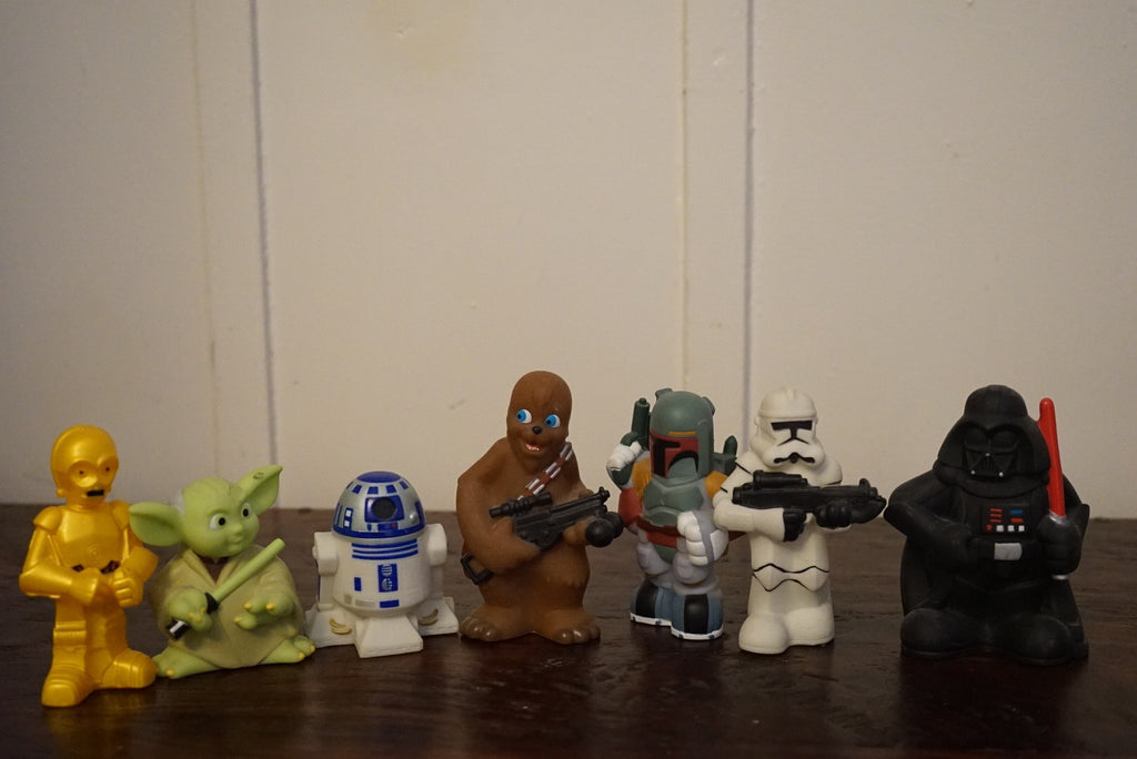 Star Wars Cartoon Figurines (Entire Lot) - XSN - Your Shopping Network