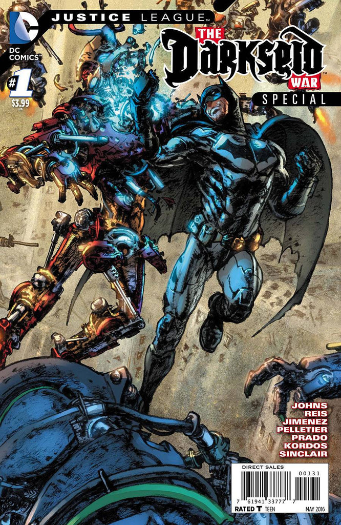 JUSTICE LEAGUE DARKSEID WAR SPECIAL #1 GI VAR ED - XSN - Your Shopping Network