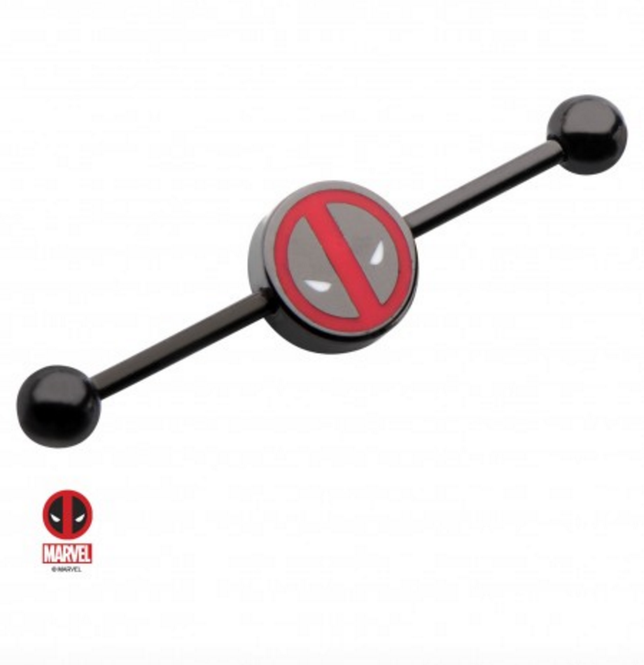 Deadpool Officially Licensed Industrial/Scaffold Bar - XSN - Your Shopping Network