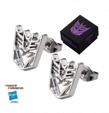 Transformers: Decepticon Earrings - XSN - Your Shopping Network