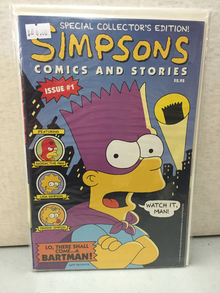 Simpsons Comics #1 - XSN - Your Shopping Network