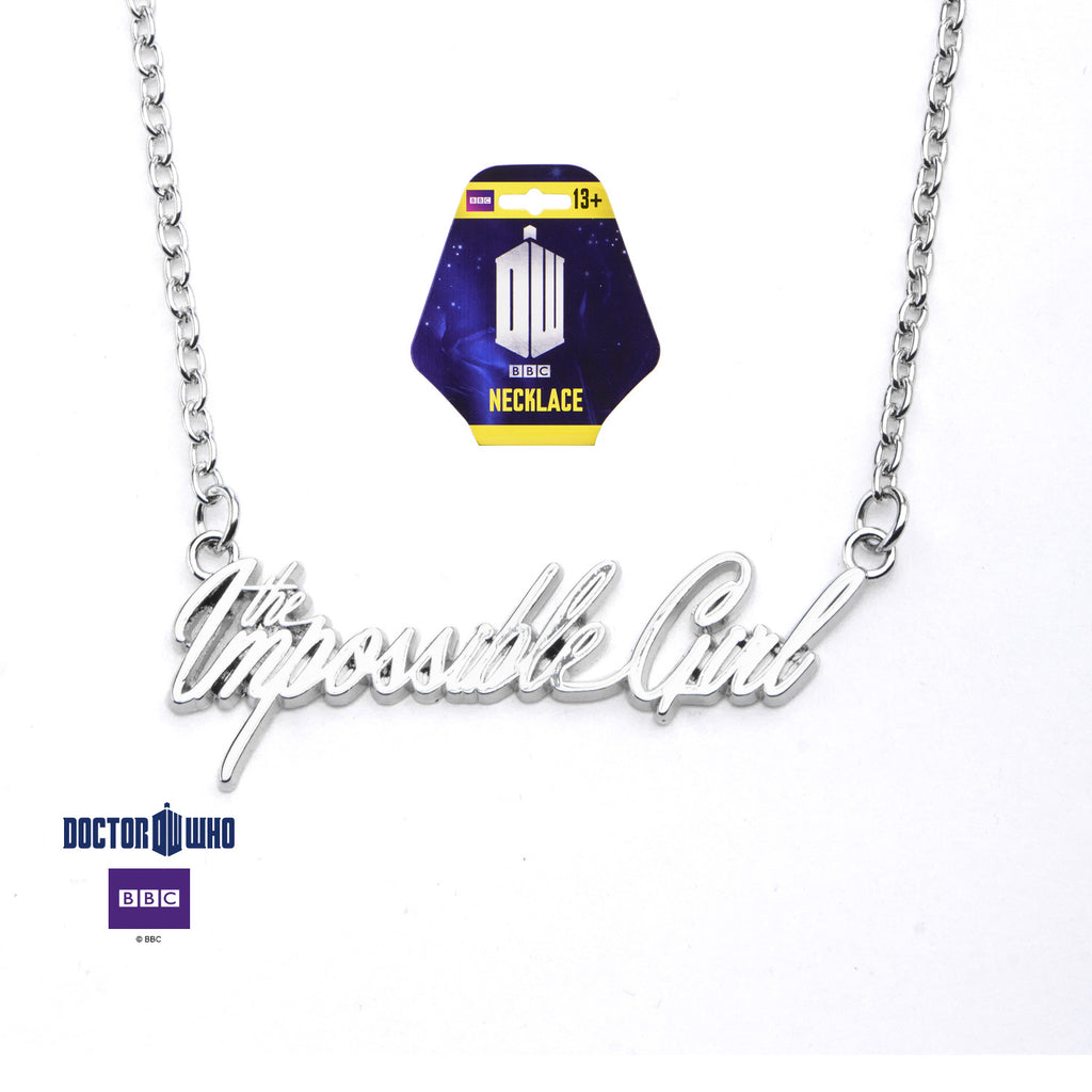 "Doctor Who ""Impossible Girl"" Necklace - XSN - Your Shopping Network"