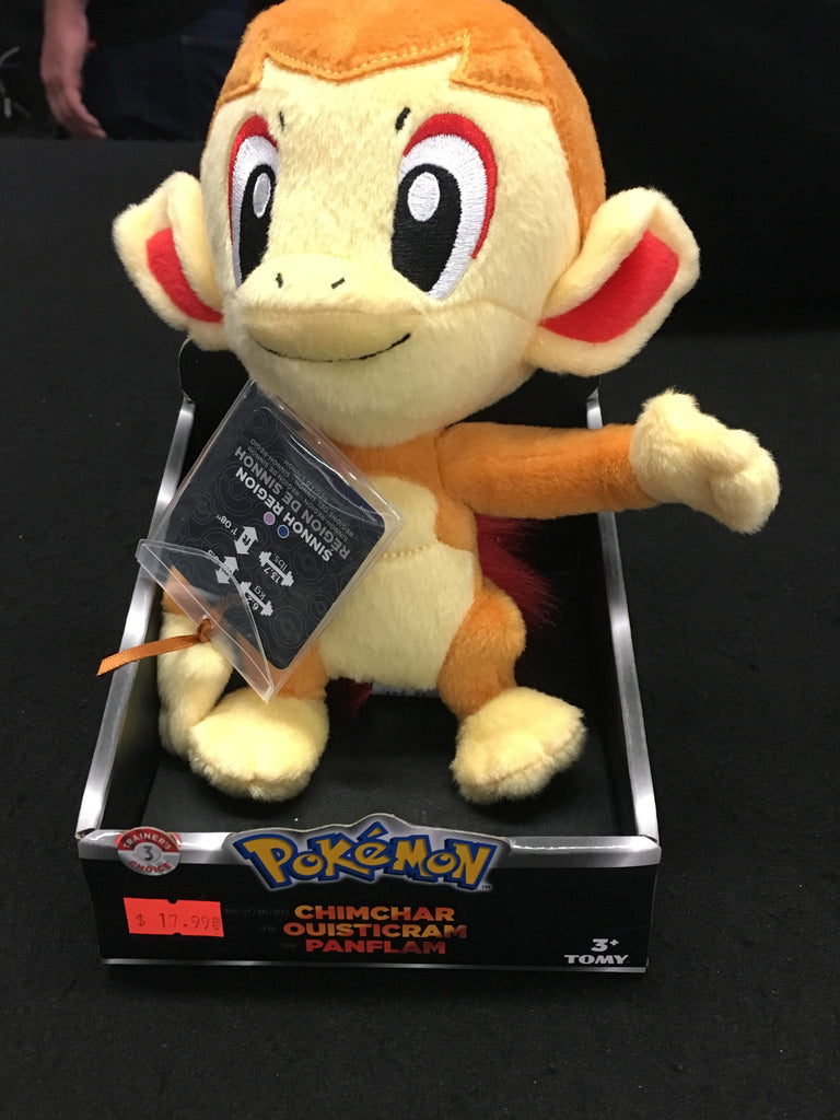 Pokemon Chimchar Ouisticram Panflam - XSN - Your Shopping Network