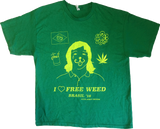 Free Weed – Brasil '16 T-Shirt - XSN - Your Shopping Network - 1
