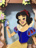 Snow White 3D paper craft illustration - XSN - Your Shopping Network - 3