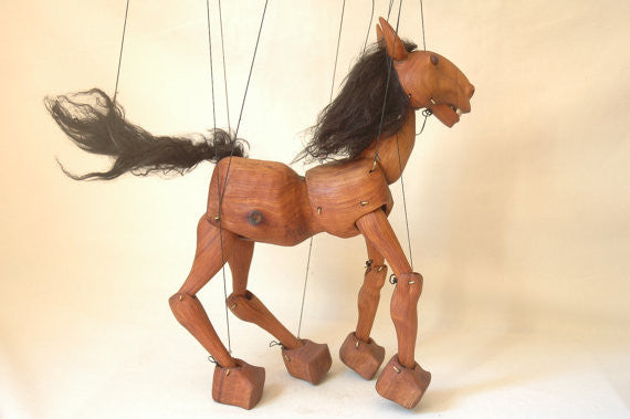 Horse Marionette - XSN - Your Shopping Network - 1
