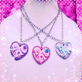My Little Pony Heart Necklaces - XSN - Your Shopping Network