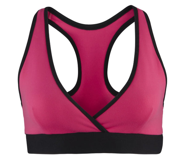 Zumba Fitness Don't Leave Me Hangin' V-Bra - Back to the Fuchsia