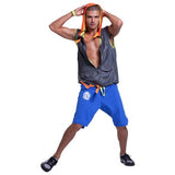 Zumba Fitness Men's Breakout Mesh Hoodie Vest - Gray (CLOSEOUT)