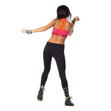 Zumba Fitness Feel Free T-Bra Top - Lollipop