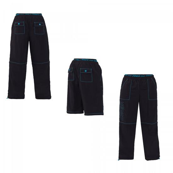 Zumba Fitness Men's Zip It Cargo Pants - Black (CLOSEOUT)