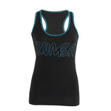 Zumba Fitness Life of the Party Racerback - Black