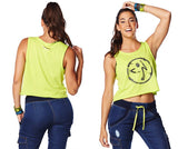 Zumba Fitness Be The Boss Loose Tank - Zumba Green (CLOSEOUT)