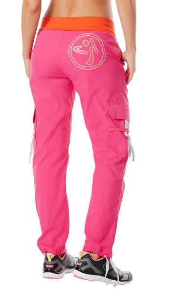 Zumba Fitness Craveworthy Cargo Pants - Back to the Fuchsia (CLOSEOUT)