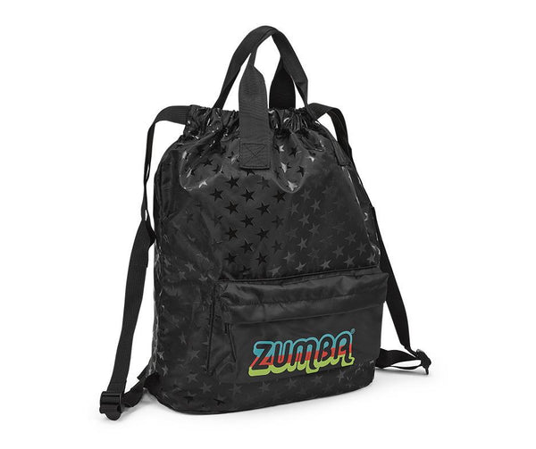 Zumba Fitness Feel Good Dance Good 2-Way Backpack