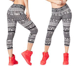 Zumba Fitness Zumba For All By All Capri Leggings - Bold Black
