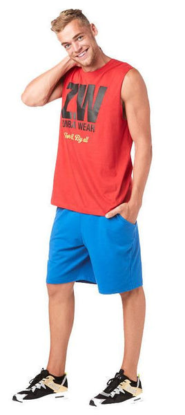Zumba Fitness Zumba For All Muscle Tank - Red