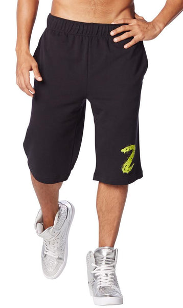Zumba Fitness Get Funked Up Shorts - Back to Black