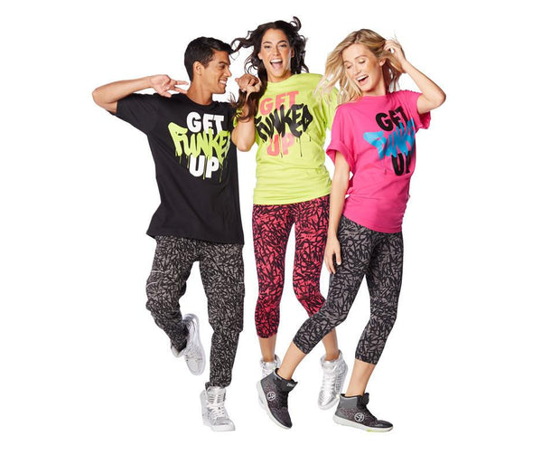 Zumba Fitness Get Funked Up T-Shirt