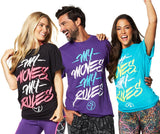 Zumba Fitness My Moves My Rules T-Shirt