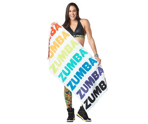 Zumba Fitness Zumba Seventies Beach Towel