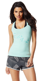 Zumba Fitness Slim Shaded Racerback - The Fog Prince