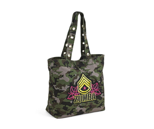Zumba Fitness Z Army Tote Bag - Army Green