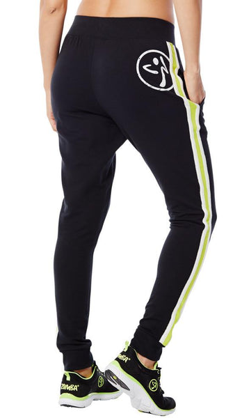 Zumba Fitness Z French Terry Pants - Back to Black