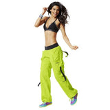 Zumba Fitness Ultimate Orbit Cargo Pants - Zumba Green