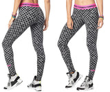 Zumba Fitness Dance Bold Long Leggings - Bold Black