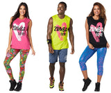Zumba Fitness Zumba Love Muscle Tank - Zumba Green