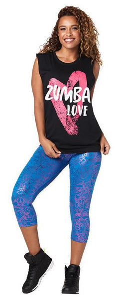 Zumba Fitness Zumba Love Muscle Tank - Black