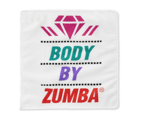 Zumba Fitness Body By Zumba Hand Towel