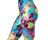 Zumba Fitness Classic High Waisted Ankle Leggings - Gumball