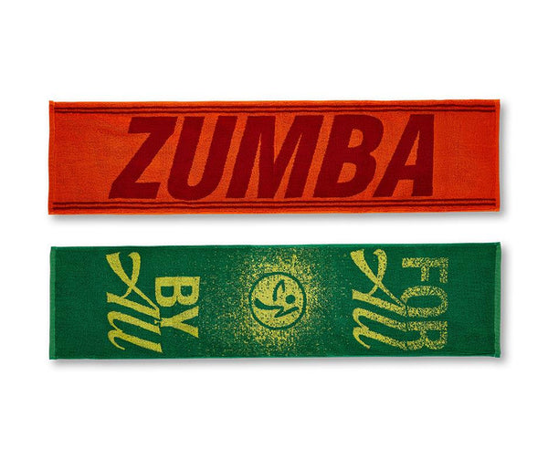Zumba Fitness For All By All Fitness Towel