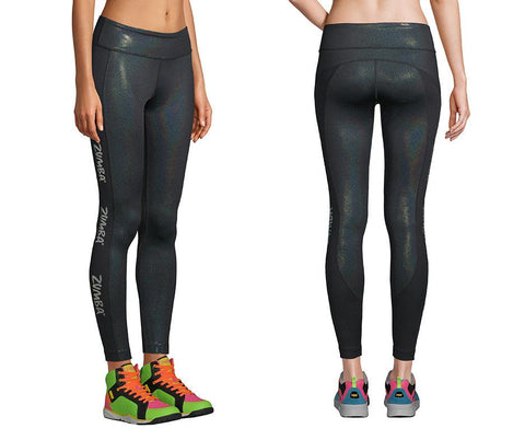 Zumba Fitness Legend Ankle Leggings - Bold Black