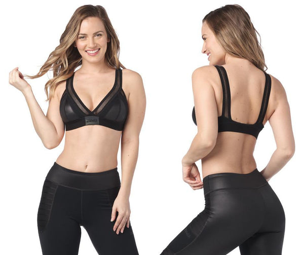 Zumba Fitness Move With Me Bra - Bold Black