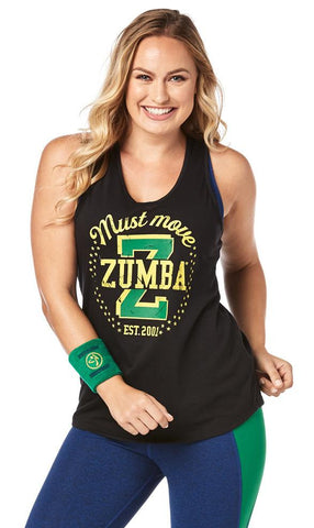 Zumba Fitness Must Move Tank - Bold Black