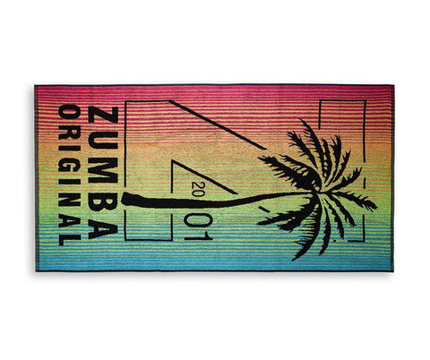 Zumba Fitness Zumba Original Beach Towel