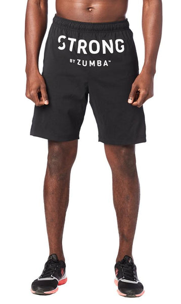 Zumba Fitness STRONG By Zumba Shorts - Bold Black