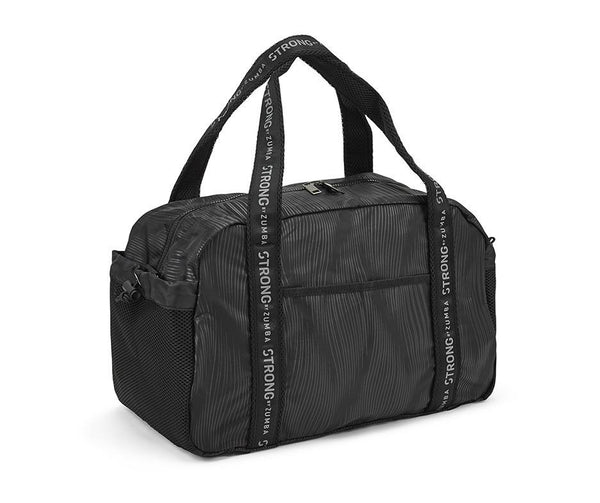 Zumba Fitness STRONG By Zumba Duffle Bag - Bold Black
