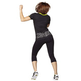 Zumba Fitness So Hot Solar V-Neck Tee - Black