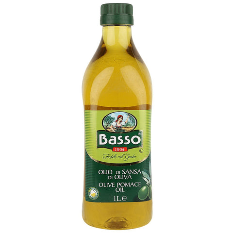 Basso Olive Oil Pomace, 1 Liter - 3 Months Subscription - FoodNosh